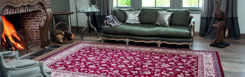 Бельгийские ковры в интерьере
